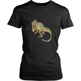 Iguana t-shirt Tropical Lizard Iguana Vintage Retro Art Tee