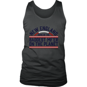 BADDEST MOTHER FUCKER ON THE PLANET TB12 SHIRT NEW ENGLAND PATRIOTS APC CHAMPIONS - TOM BRADY 12