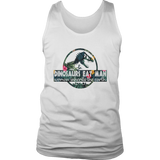 DINOSAURS EAT MAN - WOMAN INHERITS THE EARTH SHIRT FUNNT JURASSIC PARK