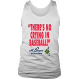 "Vintage 1992 ""A League Of Their Own"" there's no crying in baseball shirt"