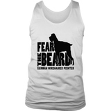 Fear the Beard - German Wirehaired Pointer T-Shirt
