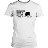 Alaska Earthquake T-shirts  Quake It Shake It AK Can Take It
