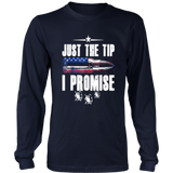 American Gun Lover Owner Shirt Just The Tip - I Promise