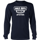 BALD GUYS ROCK - I BRAVED THE SHAVE FOR KIDS WITH CANCER SHIRT