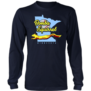 BOMBA SQUIRREL SHIRT - This Minnesota Squirrel Goes Nuts For Bombas - Minnesota Twins