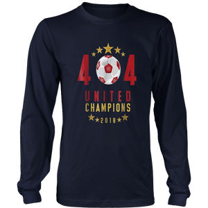 404 United Champions 2018 T-Shirt for Atlanta Fans