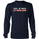 JD DAVIS! 877-RUNSNOW SHIRT JD Davis - New York Mets