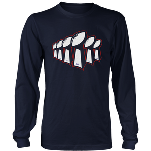 NEW ENGLAND SIX-TIME CHAMPIONS SHIRT - New England Patriots SUPER BOWL LIII CHAMPIONS SHIRT