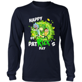 Happy St Patrick's Day Shirt Rick And Morty