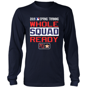 Houston Astros 2019 Spring Training Authentic Collection T-Shirt