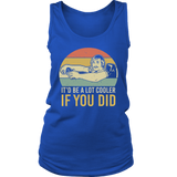 DAVID WOODERSON VINTAGE IT'D BE A LOT COOLER IF YOU DID SHIRT