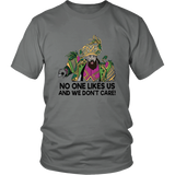 No One Like Us And We Don't Care T-Shirt - Philly Speech TeePhiladelphia Eagles