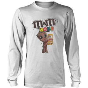 M and M's World Baby Groot Version Shirt