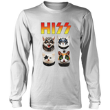 Hiss Cat shirt Kiss band