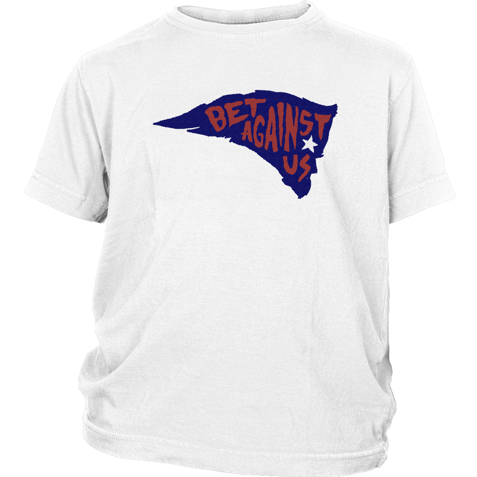 BET AGAINST US SHIRT - New England Patriots 2018 AFC Champions