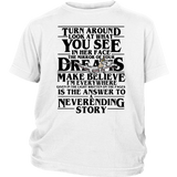 Stranger Things Turn Around Look See Face Mirror Dreams Shirt