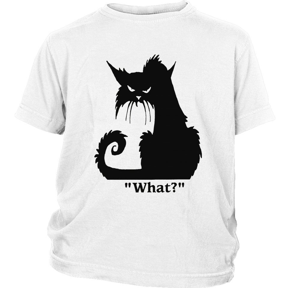 Cat what lovers villain cat shirt funny