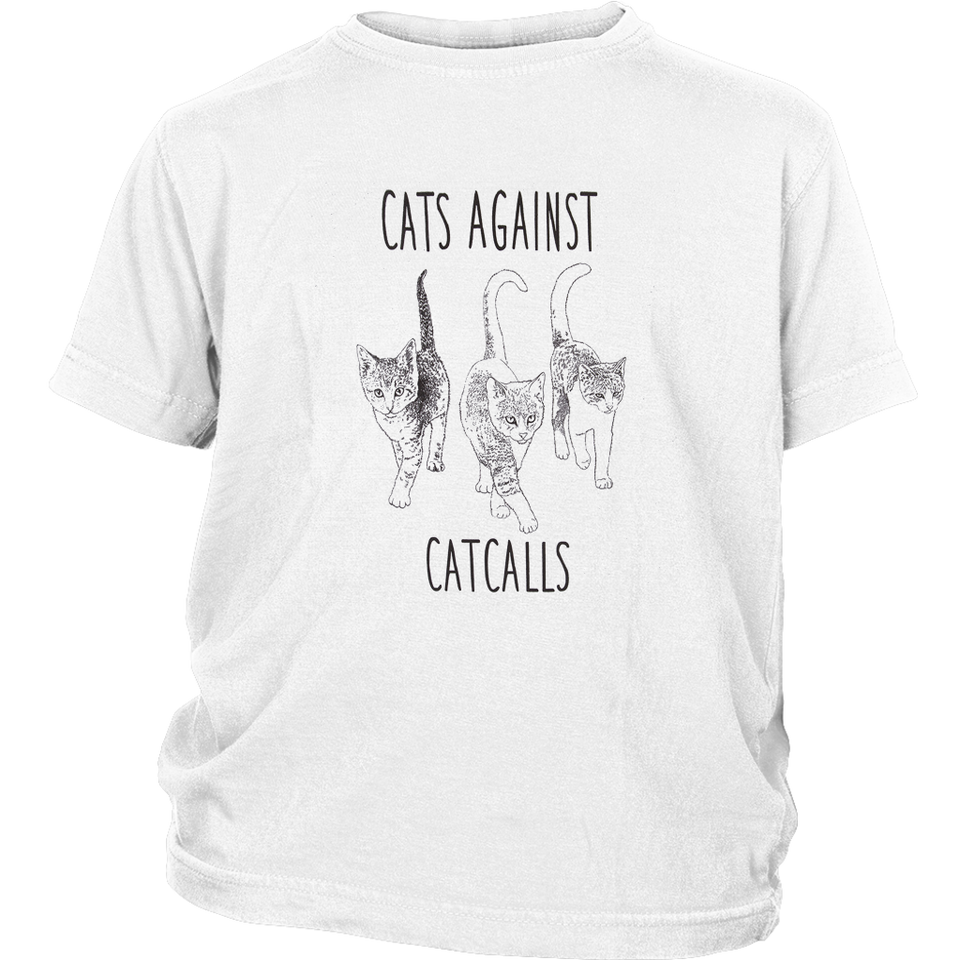CAT AGAINST CATCALLS T-SHIRT