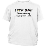 Type One - The One Where My Pancreas Doesn't Work Shirt Stranger Things