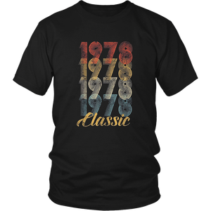 40th Birthday Gift Vintage 1978 T-Shirt