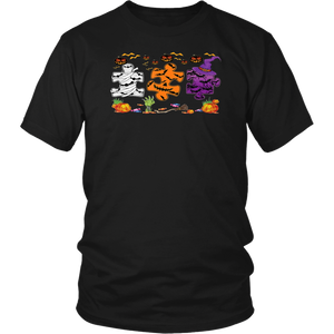 Halloween Autism Awareness Pumpkin Autism Mask T-Shirt
