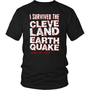 I Survived The Cleveland Earthquake T-Shirt