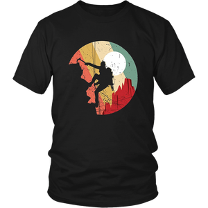 Rock Climbing Mountain Climbing Lover T-Shirt