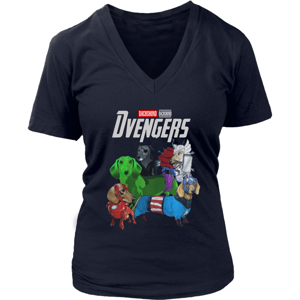DVENGERS SHIRT DACSHUND - SHIRT Avengers EndGame Dog Version shirt
