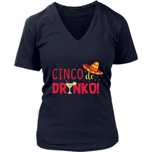 Cinco De Drinko - Cinco Mayo 2018 Drinking T-Shirt