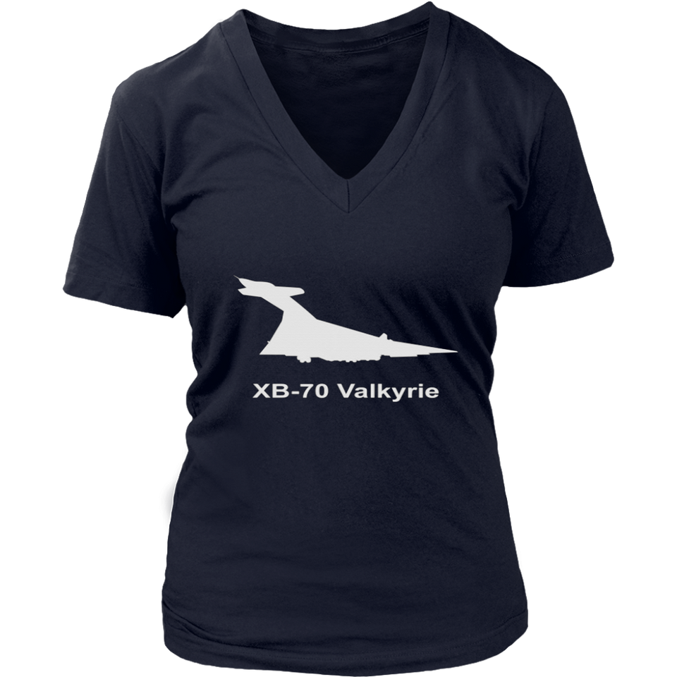 North American XB-70 Valkyrie Military Jet Aircraft Shirt