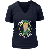 GRAB EM' BY THE COOZIE T-SHIRT FUNNY DONALD TRUMP - ST PATRICK'S DAY