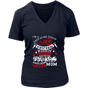 Always Cheering Soccer Mom T Shirt
