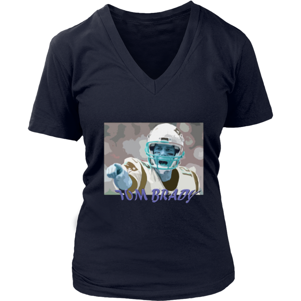 Tom Brady Football T-Shirt