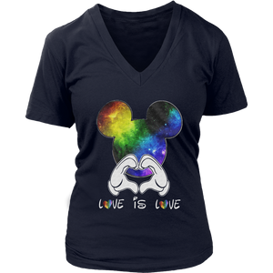 LGBT Mickey Mouse Love Is Love shirt