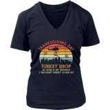 Turkey Drop Thanksgiving Gift T-Shirt