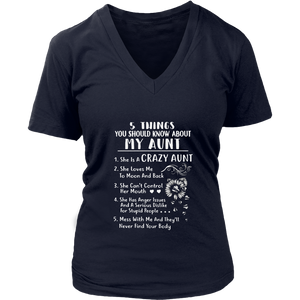 5 Things You Should Know About My Aunt Shirt