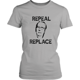 REPEAL & REPLACE Mitch McConnell Shirt Anti Turtle Face Meme