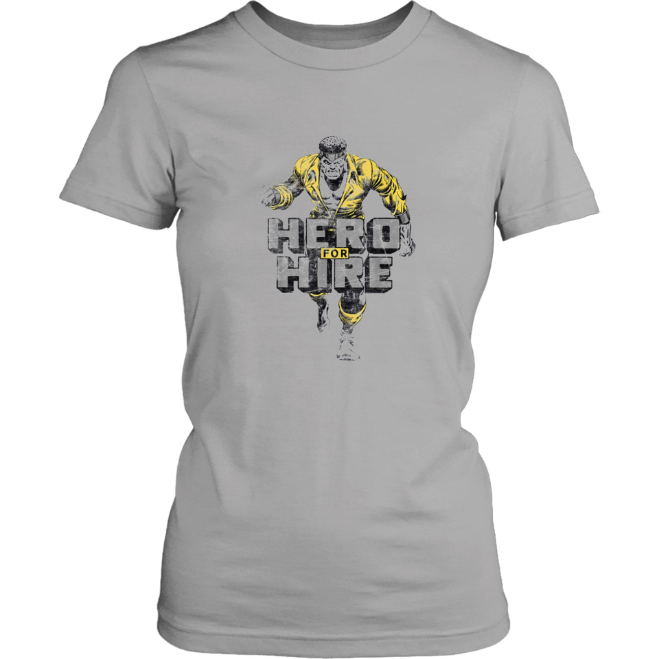 Marvel Heroes For Hire Luke Cage Stance Graphic T-Shirt
