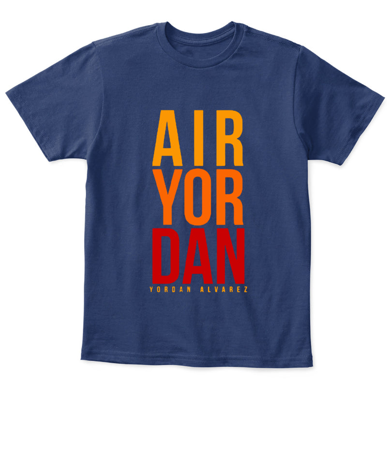He's Air Yordan Shirt Yordan Alvarez - Houston Ast - Kids Tee