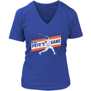 For Pete's Sake Shirt Pete Alonso - New York Mets