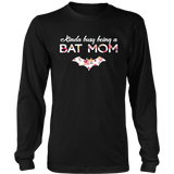 kinda busy being a bat mom shirt