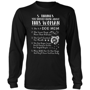 5 THINGS YOU SHOULD KNOW ABOUT THIS WOMAN SHIRT