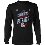 New England Patriots 2018 AFC Champions Shirt