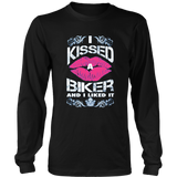 I kissed A Biker and I Liked It Shirt