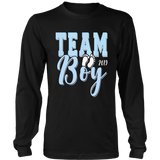Team Boy Gender Reveal Baby Shower T-Shirt 2019