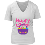 Happy Easter Shirt Colorful Eggs tee