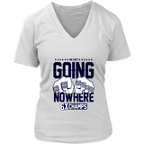 1WE AIN_T GOING NOWHERE T-SHIRT SIX-TIME CHAMPIONS SHIRT - New England Patriots SUPER BOWL LIII CHAMPIONS SHIRT