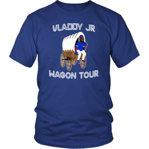 Vladdy Wagon Shirt Vladdy JR Wagon Tour - Vladimir Guerrero Jr - Toronto Blue Jays