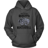 I NEVER RECEIVED MY LETTER TO HOGWARTS - SO I'M GOING TO DEFEND WINTERFELL SHIRT
