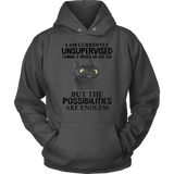 I am currently unsupervised I know It freaks me out too shirt Toothless - How to Train Your Dragon